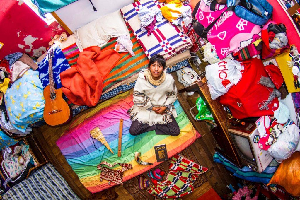 ROOM 665   MARCELLO   La Paz   Bolivia. My Room Photos project by John Thrackway